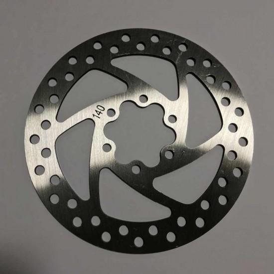 Тормозной диск 140 мм для электросамокатов Kugoo M 4/ M4 pro